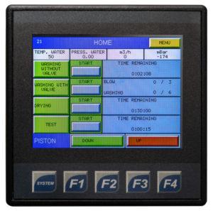 DPF-Control-Screen