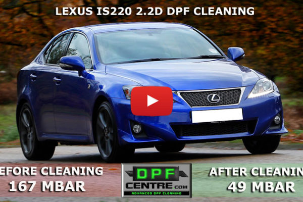 Lexus IS220 2.2D DPF Cleaning