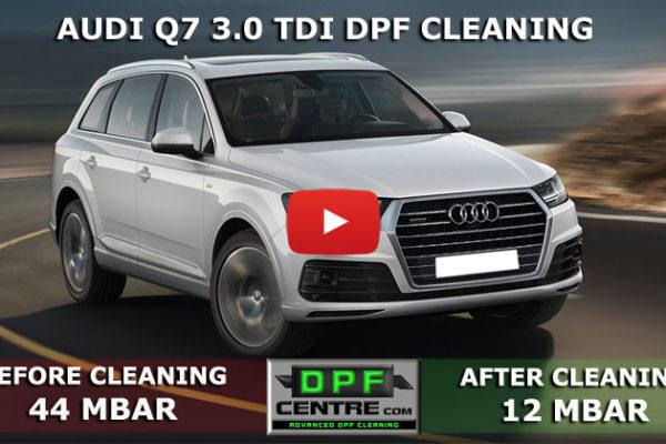 Audi Q7 3.0 TDI DPF Cleaning