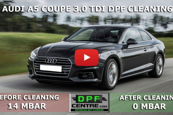 Audi A5 Coupe 3.0 TDI DPF Cleaning