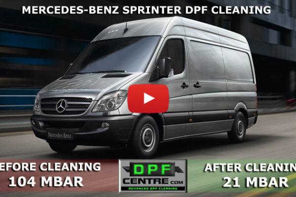 Mercedes-Benz Sprinter 2.1 CDI Sprinter DPF Cleaning