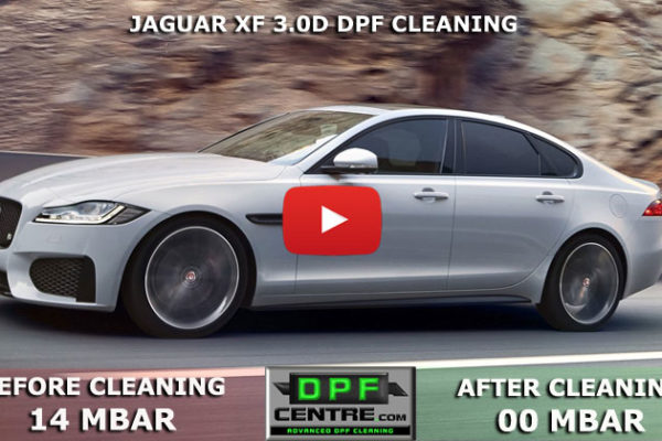 Jaguar XF 3.0D DPF Cleaning