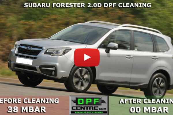 Subaru Forester 2.0D DPF Cleaning