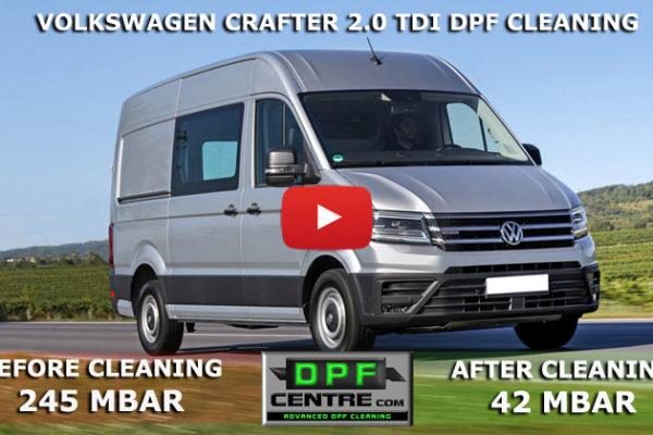Volkswagen Crafter 2.0 TDI DPF Cleaning