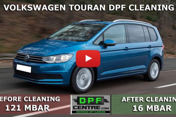 Volkswagen Touran 1.9 TDI DPF Cleaning
