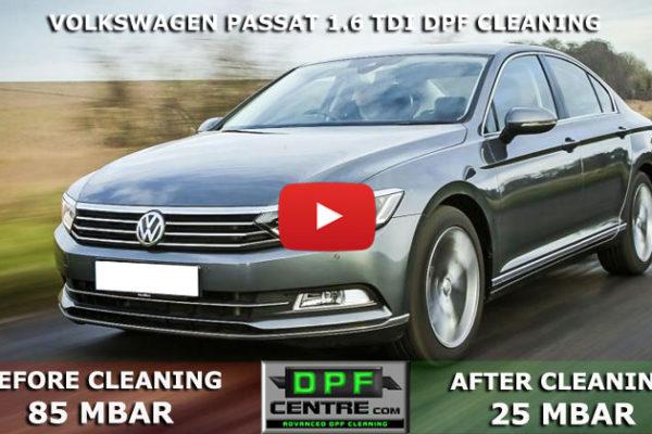 Volkswagen Passat 1.6 TDI DPF Cleaning