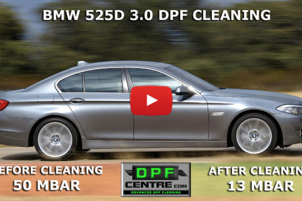 BMW 525D 3.0 DPF Cleaning