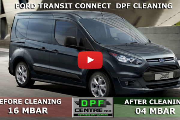 Ford Transit Connect 1.8 TDCI DPF Cleaning