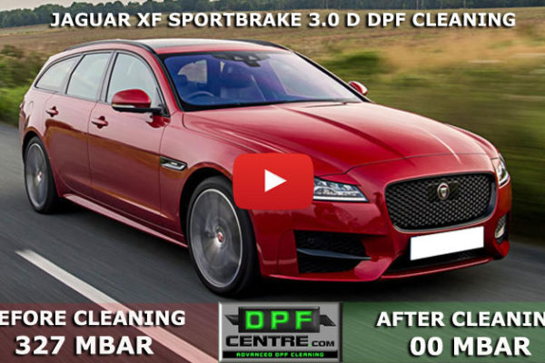 Jaguar XF Sportbrake 3.0 D DPF Cleaning