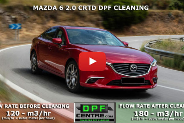 Mazda 6 2.0 CRTD DPF Cleaning