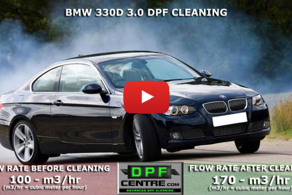 BMW 330d 3.0 DPF Cleaning