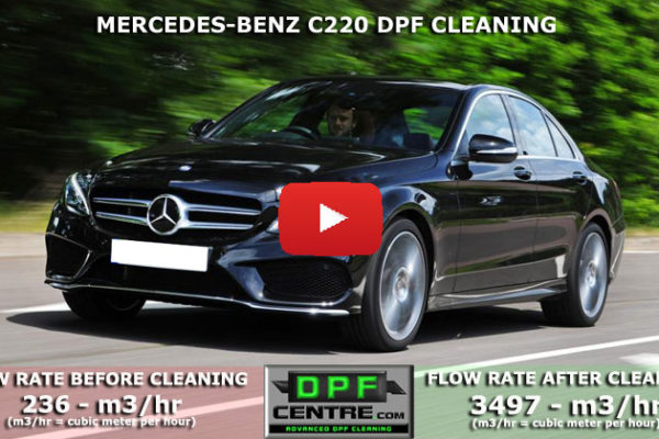 Mercedes-Benz C220 2.1 CDI DPF Cleaning