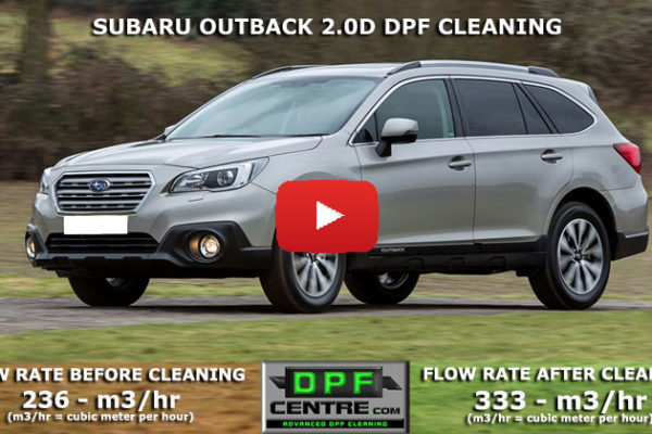 Subaru Outback 2.0D DPF Cleaning