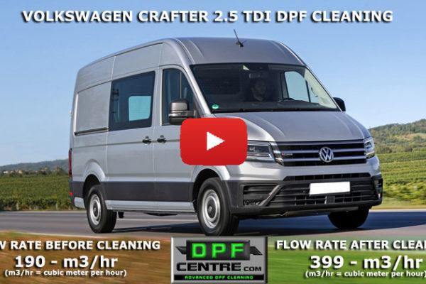 Volkswagen Crafter 2.5 TDI DPF Cleaning