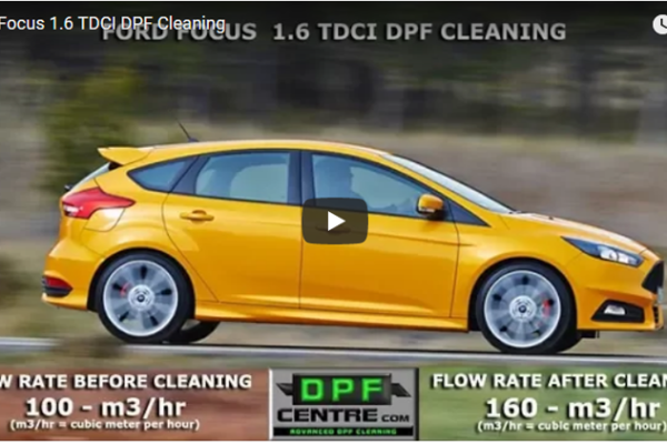 Ford Focus 1.6 TDCI DPF Cleaning