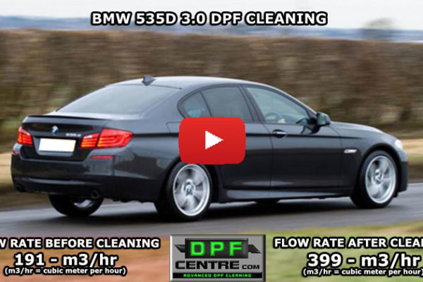 BMW 535D 3.0 DPF Cleaning