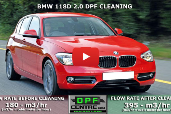 BMW 118D 2.0 DPF Cleaning