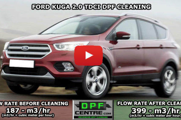 Ford Kuga 2.0 TDCI DPF Cleaning