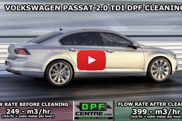 Volkswagen Passat 2.0 TDI DPF Cleaning
