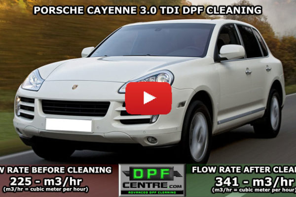 Porsche Cayenne 3.0 TDI DPF Cleaning