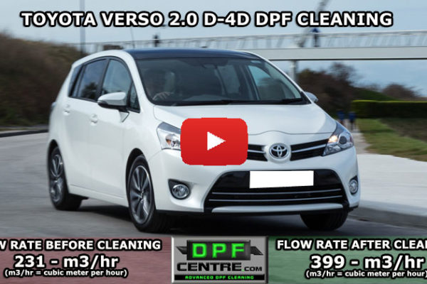 Toyota Verso D 4-D DPF Cleaning