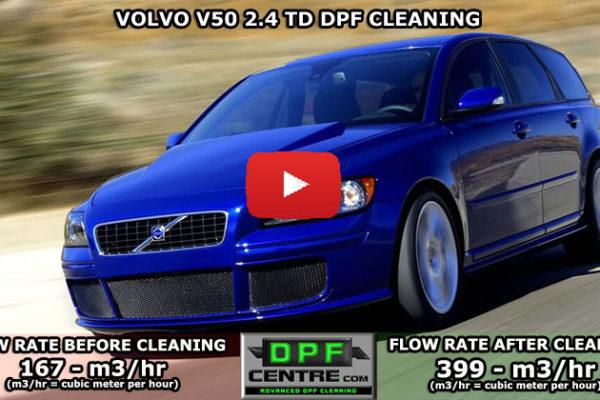 Volvo V50 2.4 TD DPF Cleaning