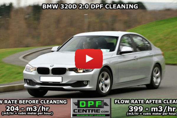 BMW 320D 2.0 DPF Cleaning