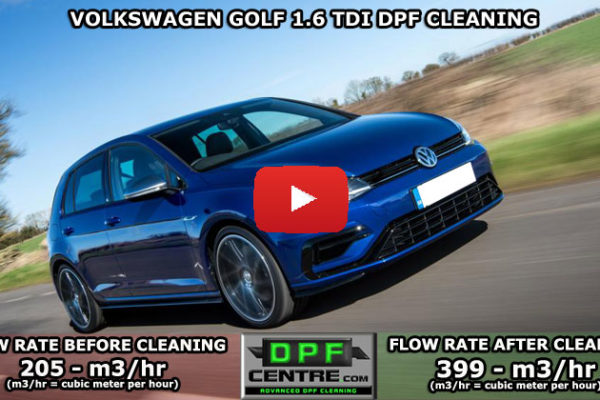 Volkswagen Golf 1.6 TDI DPF Cleaning