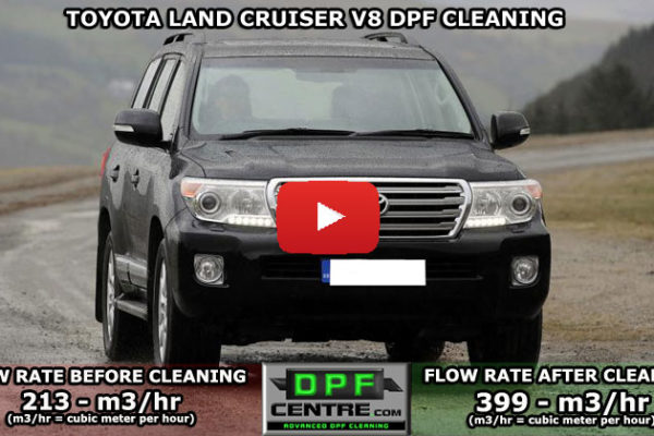 Toyota Land Cruiser V8 DPF Cleaning