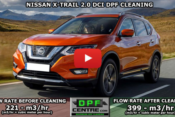 Nissan X-Trail 2.0 DCI DPF Cleaning