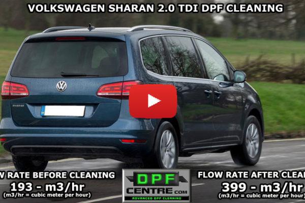 Volkswagen Sharan 2.0 TDI DPF Cleaning