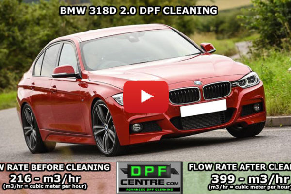 BMW 318D 2.0 DPF Cleaning