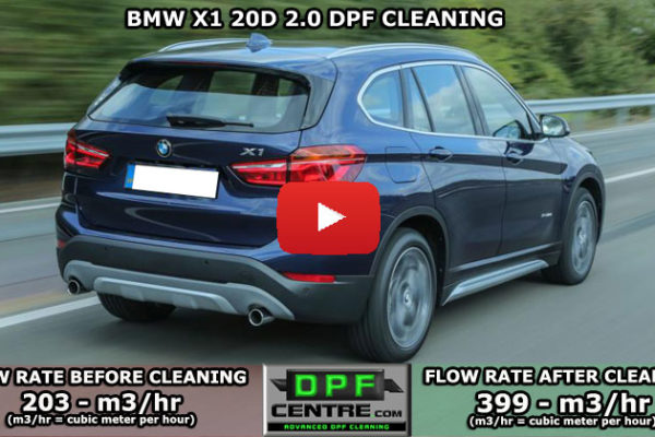 BMW X1 20D 2.0 DPF Cleaning