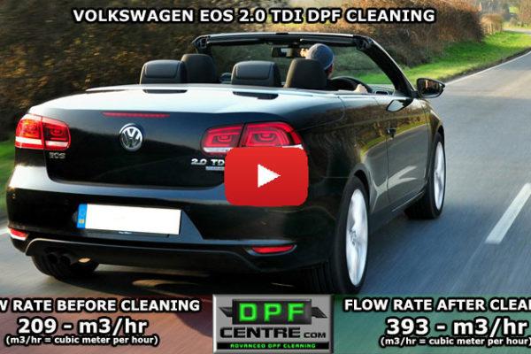 Volkswagen Eos 2.0 TDI DPF Cleaning