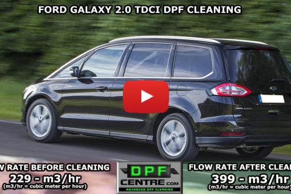 Ford Galaxy 2.0 TDCI DPF Cleaning