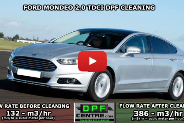 Ford Mondeo 2.0 TDCI DPF Cleaning