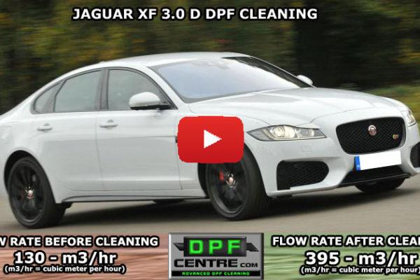 Jaguar XF 3.0-D DPF Cleaning