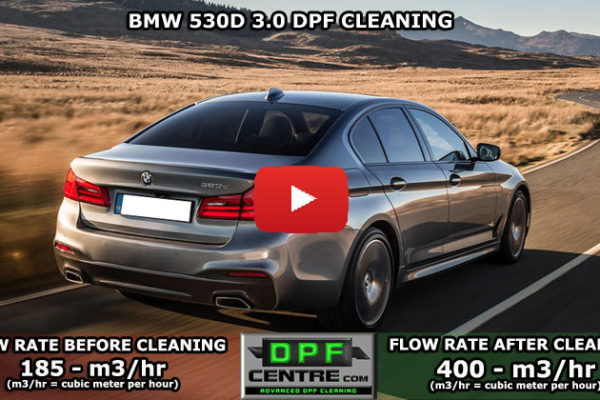 BMW 530D 3.0 DPF Cleaning