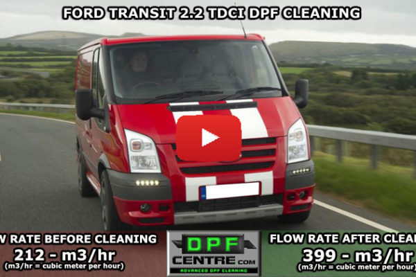 Ford Transit 2.2 TDCI DPF Cleaning