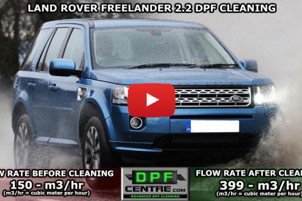 Landrover Freelander 2.2 DPF Cleaning
