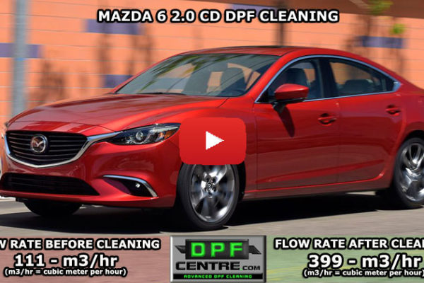Mazda 6 2.0 CD DPF Cleaning