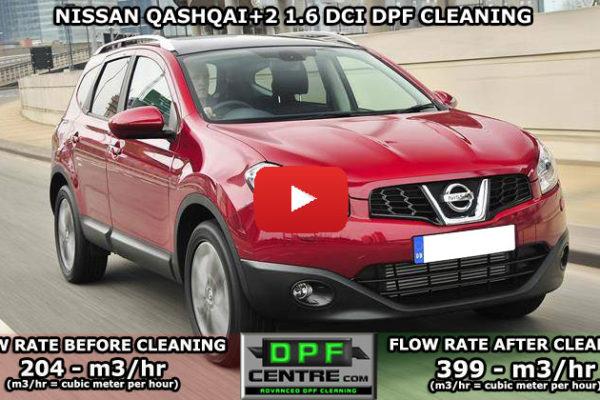 Nissan Qashqai+2 DPF Cleaning