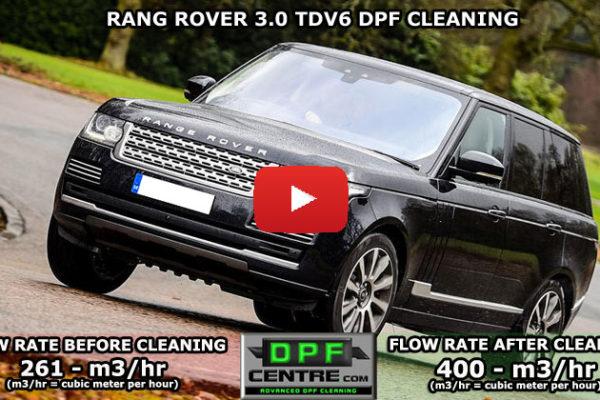 Rang Rover 3.0 TDV6 DPF Cleaning