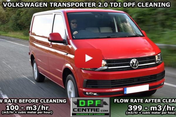 Volkswagen Transporter 2.0 TDI DPF Cleaning