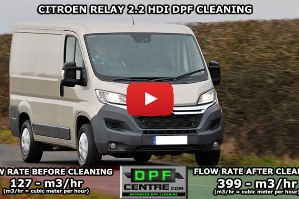 Citroen Relay 2.2 HDI DPF Cleaning