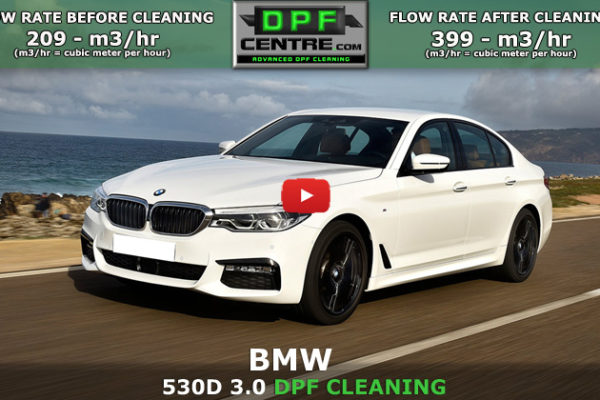 BMW 530D DPF Cleaning