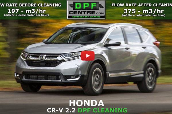 Honda CR-V 2.2 I-CTDI DPF Cleaning