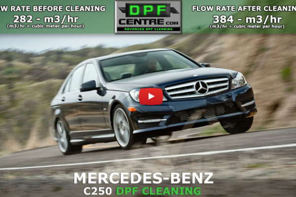Mercedes-Benz C250 2.1 CDI DPF Cleaning