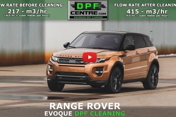Range Rover Evoque 2.0 TD4 DPF Cleaning