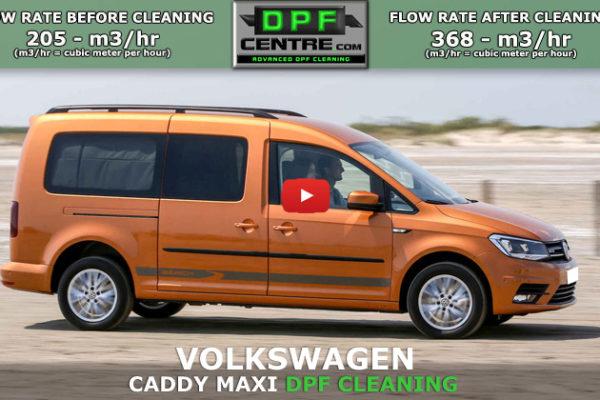 Volkswagen Caddy Maxi 1.9 TDI DPF Cleaning